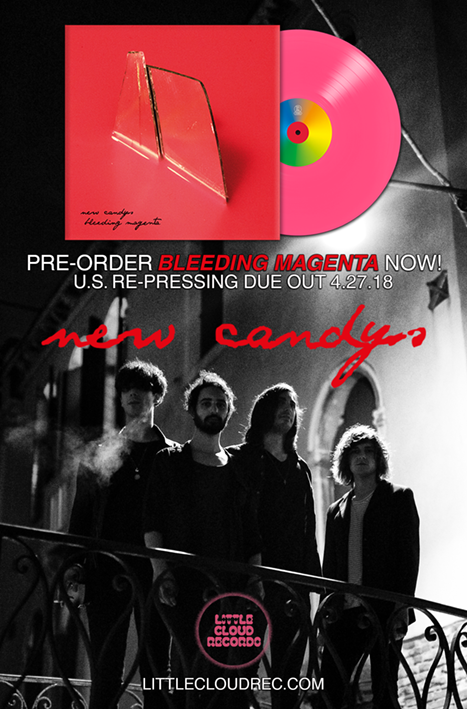 Bleeding Magenta by New Candys | Little Cloud Records