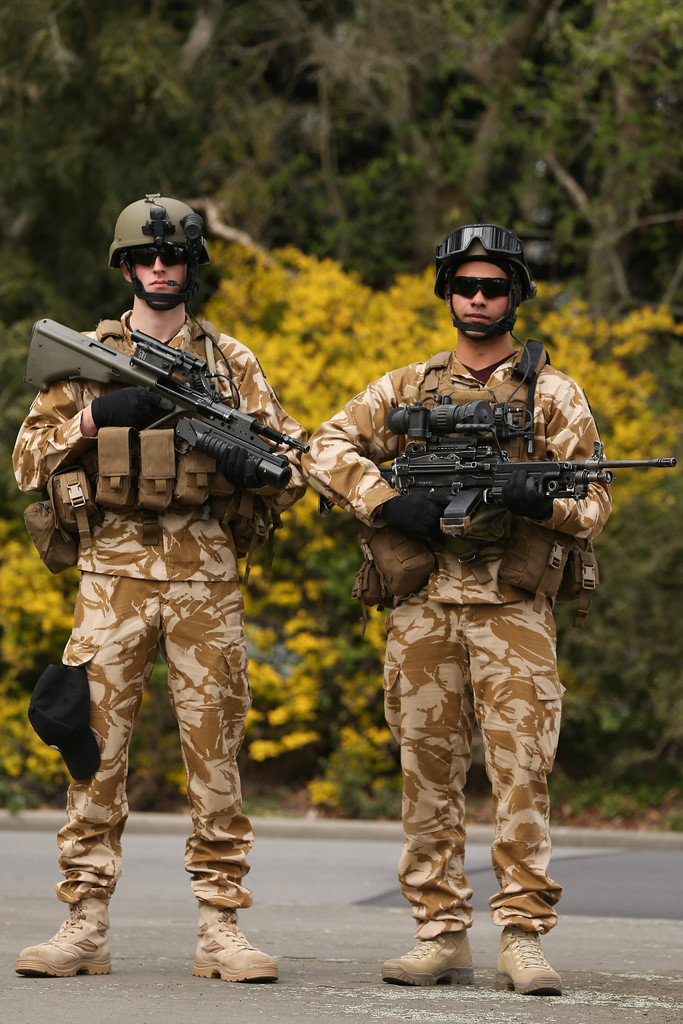 World Military and Police Forces: New Zealand Army Special Forces Weapons