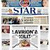 """«Λουκέτο το Λαύριο» είναι ο τίτλος της εφημερίδας που ισχυρίζεται πως """"μπήκε λουκέτο στο στρατόπεδο εκπαίδευσης του Λαυρίου""""!"""