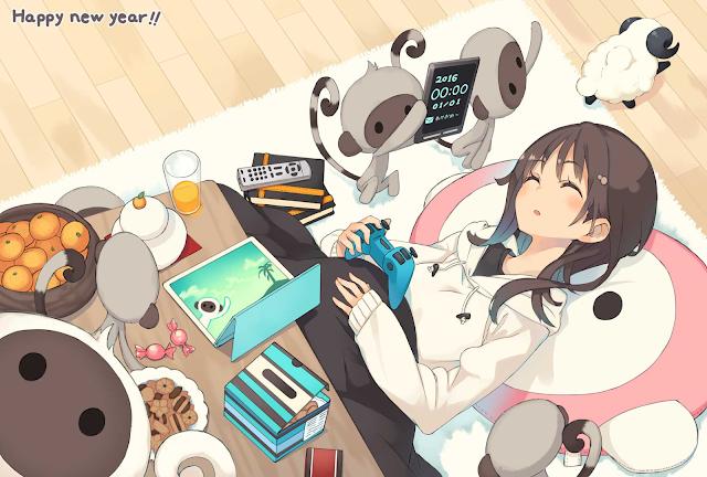 Ósma karta pocztowa anime na 2016 rok