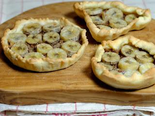 Tartelettes banane et spéculoos