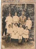 João Antonio Raibert, Maria Alexandrina Murith e filhos