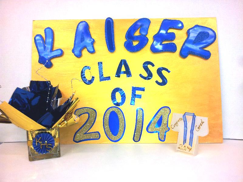 Graduation poster board ideas