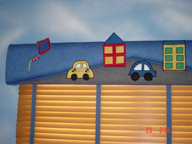 Persianas para decorar la habitaci n del ni o - Cortinas para bebes decoracion ...