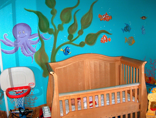 Ocean Life Crib Bedding