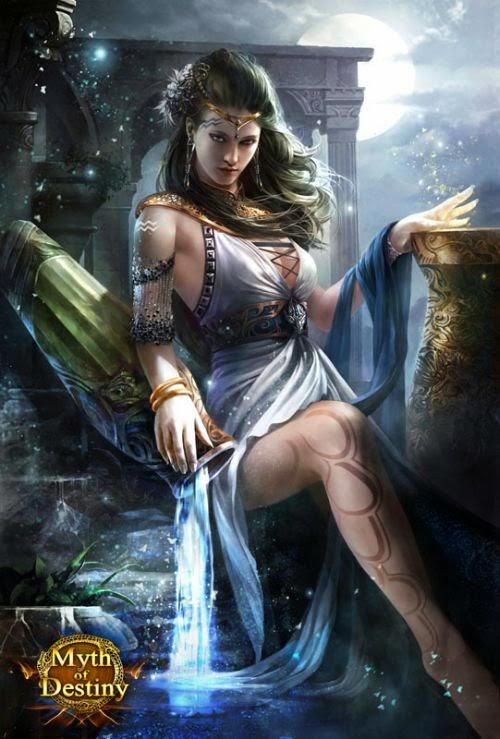 guicaimumu chinese artist illustrations fantasy card games Goddess