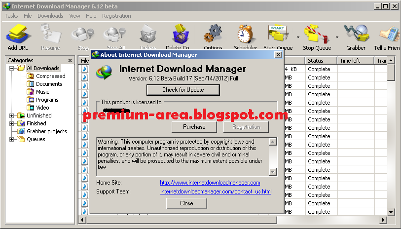 Internet Download Manager 6.12 Build 15 Final Full Mediafire Link Download