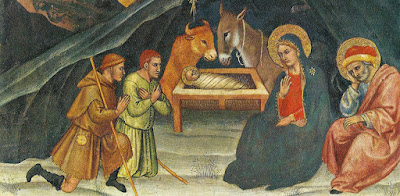 Adoración de los pastores, Taddeo di Bartolo