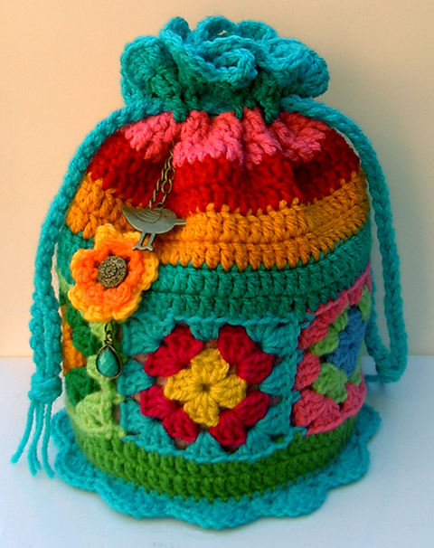 Groovy Textiles Crochet Dilly Bag Pattern
