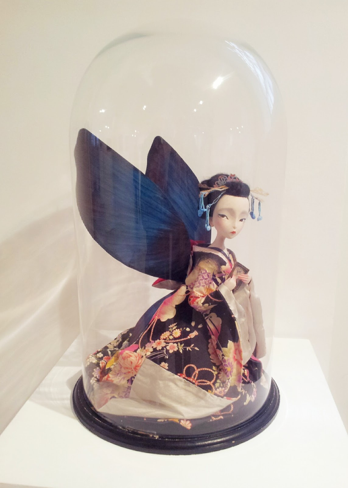 Escultura de Madame Butterfly - Benjamin Lacombe
