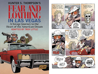 Troy Little's Fear and Loathing In Las Vegas graphic novel