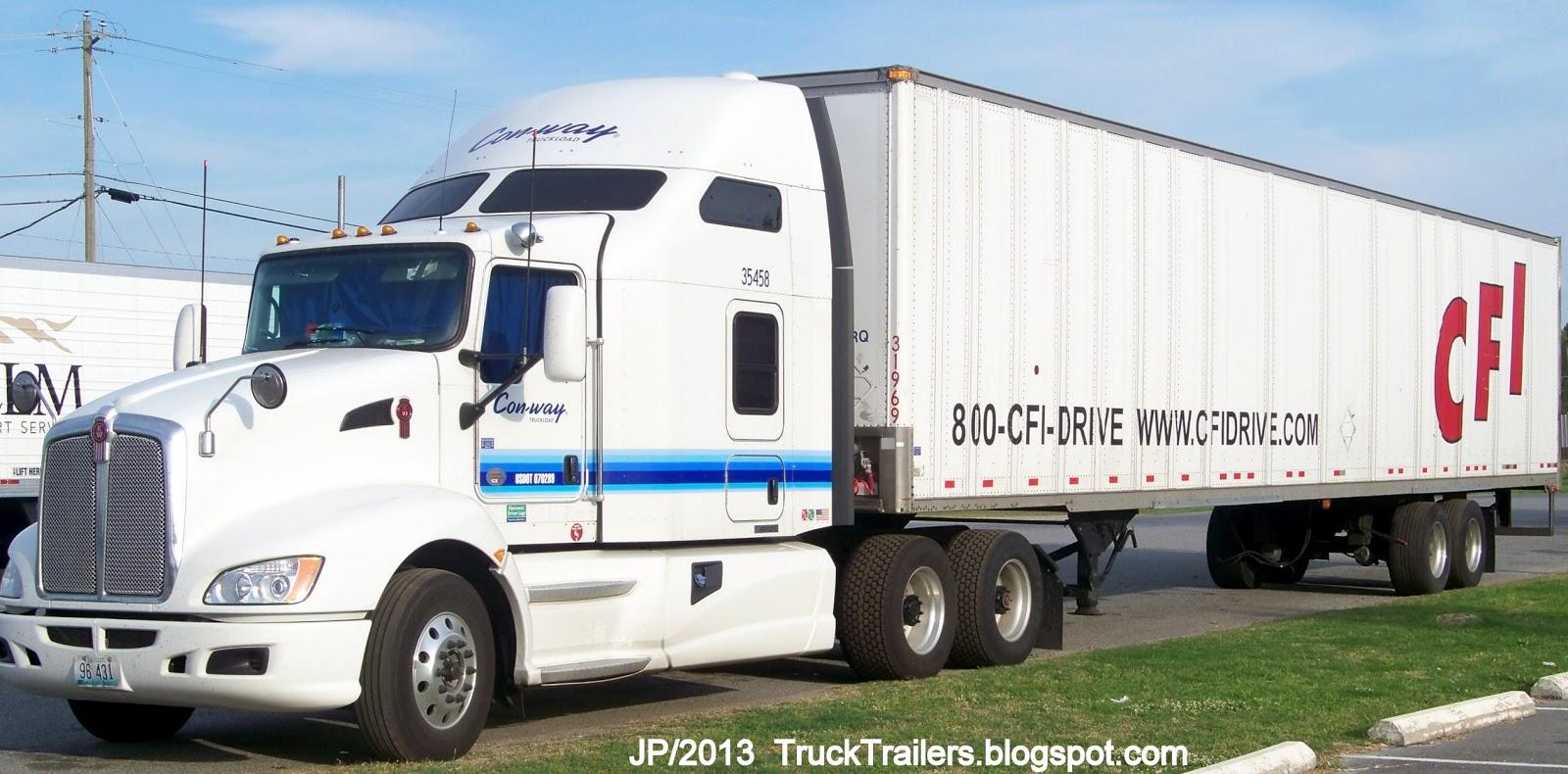 Conway Freight Pickup Ukrana Deren