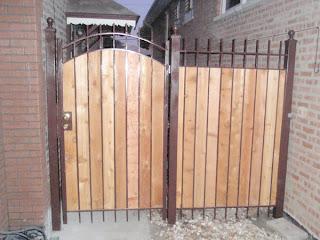 Деревянный забор. Фото 38