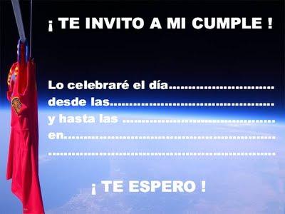 EL RINCÓN DE LOS PEQUES: INVITACIONES PARA CUMPLEAÑOS III