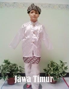 Baju Adat Anak Jawa timur