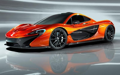 McLaren P1 with Lightweight Cockpit