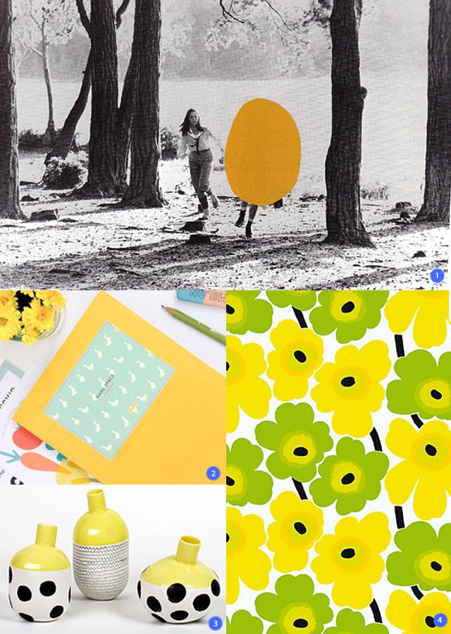 colour love - yellow