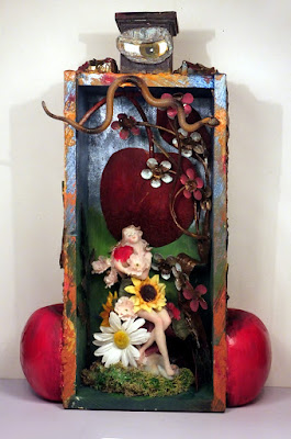 assemblage, found+objects