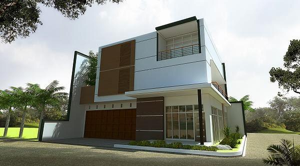 gambar 3d rumah