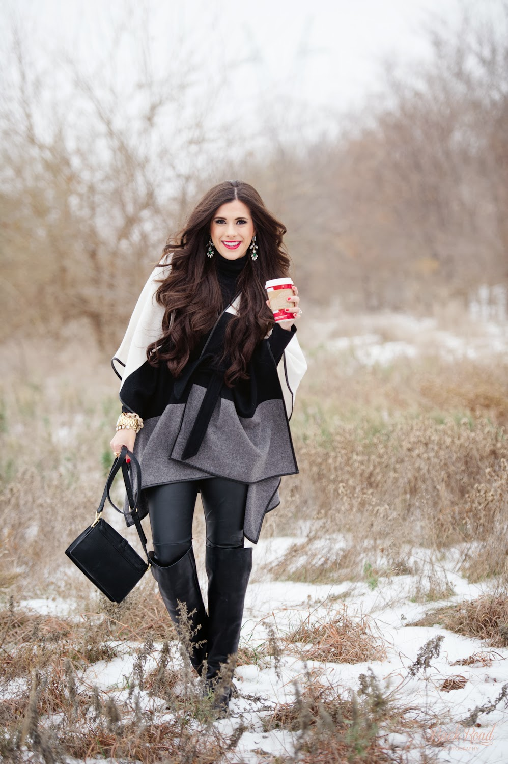 the sweetest thing blog, www.thesweetestthingblog, emily gemma, backroad photography, ann taylor, cape, over the knee boots, sole society, forever 21