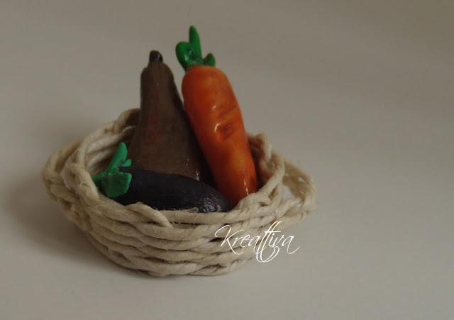 cestino ortaggi in miniatura