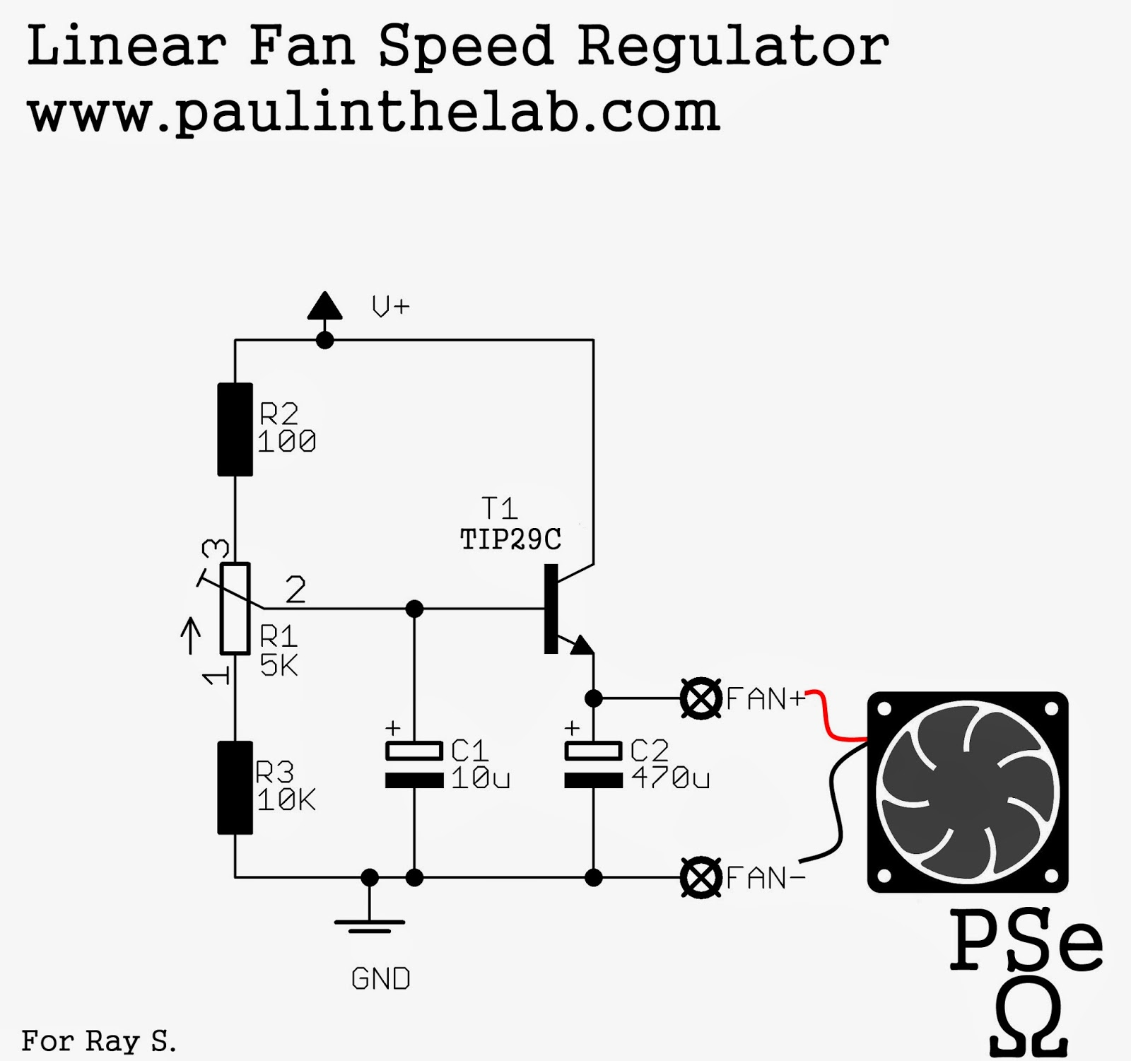 pc fan wiring diagram