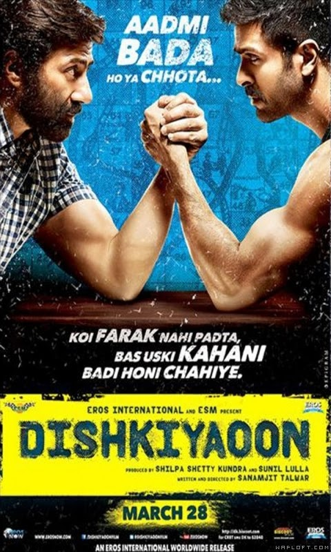 Dishkiyaoon (2014) Watch Online Full Movie Free Download Hindi Movie 400MB WebHD 576P