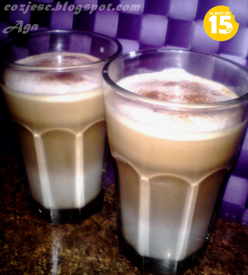 Latte macchiato, przepis na kawę latte