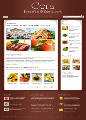 Share template JV Cera - Joomla 1.5