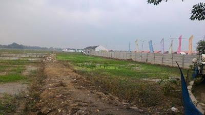 Tanah Murah 7.4Ha Samping Perum Bumi sakinah Cibitung Bekasi 250Ribu/meter