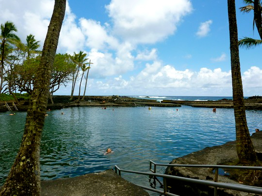 Champagne Pond Big Island