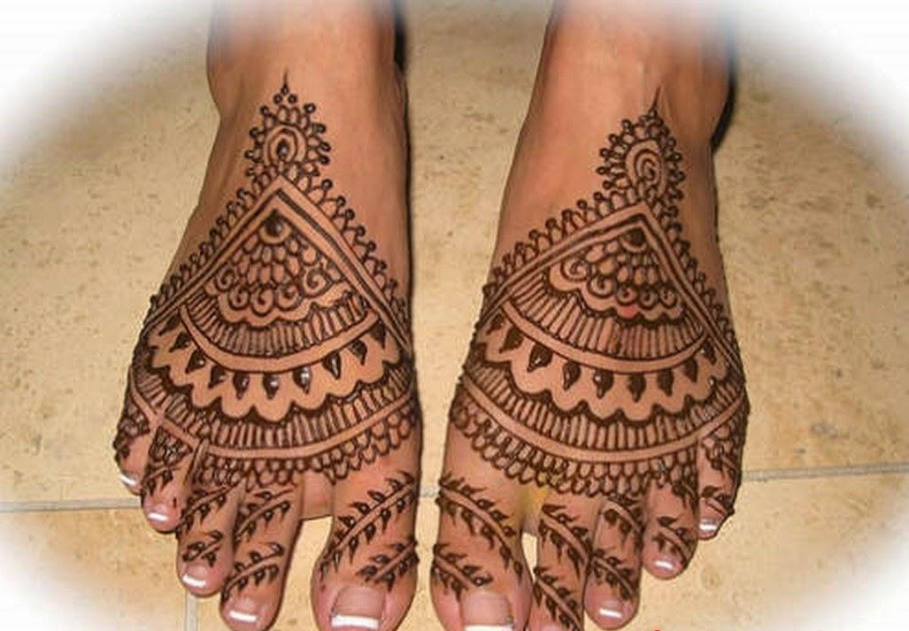 Mehndi For Dulhan Foot : Best mehndi designs latest dulhan for feet