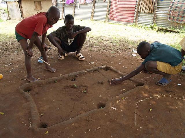 Billiards--Gulu style