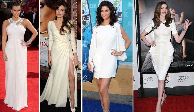 vestido branco Que makeup usar com vestido branco!?