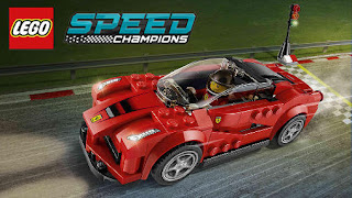 Screenshots of the LEGO: Speed champions for Android tablet, phone.