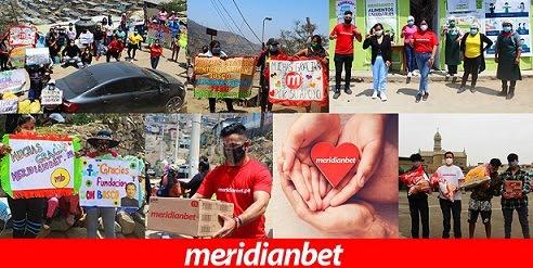 MERIDIANBET LLEVÓ AYUDA A LA FUNDACIÓN DON BOSCO