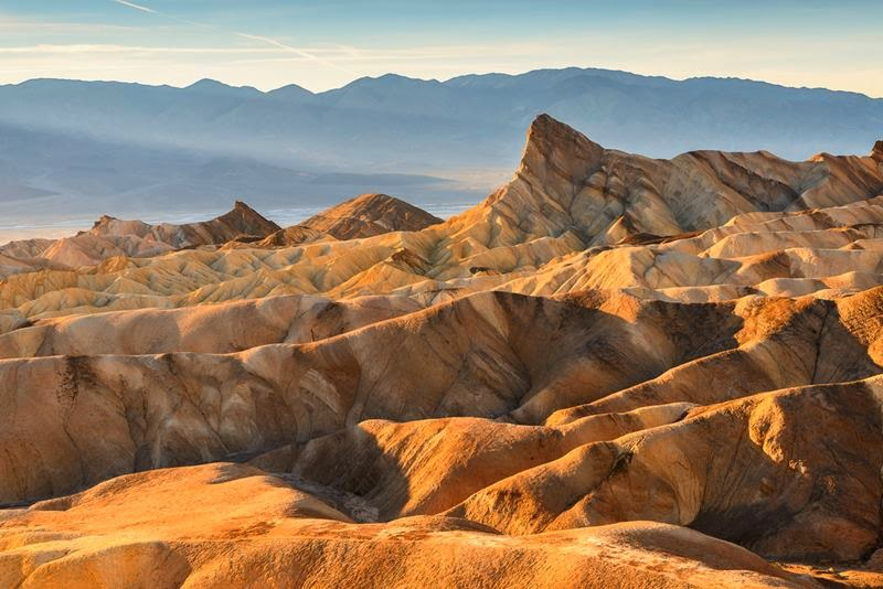 Manly Beacon at Zabriskie Point.