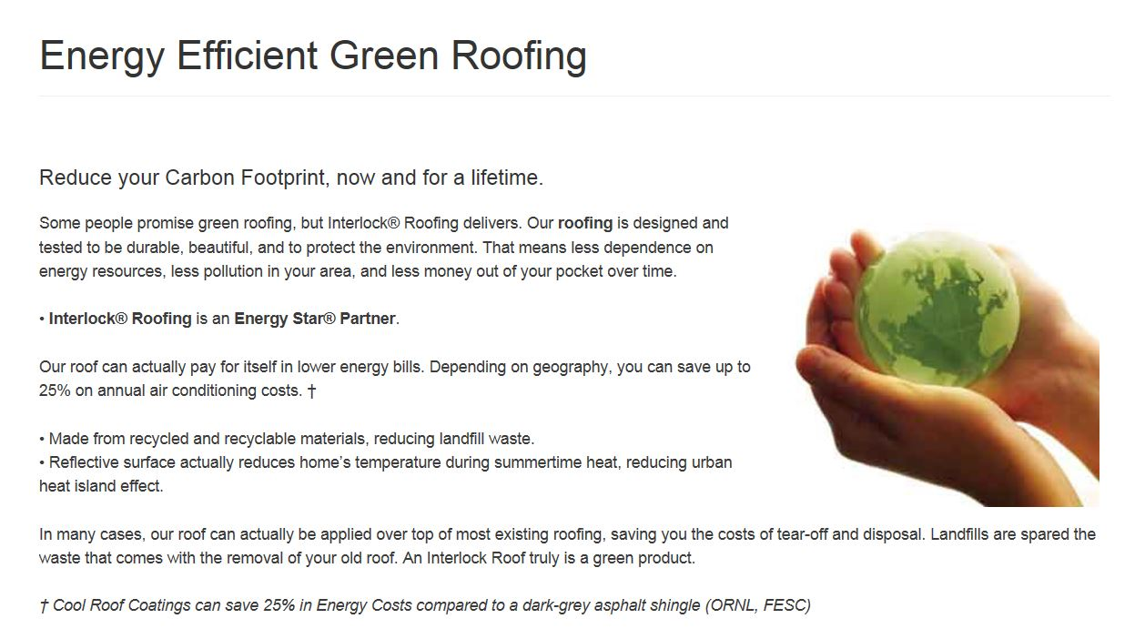 Mariette 39 S Back To Basics Energy Efficient Green Roofing