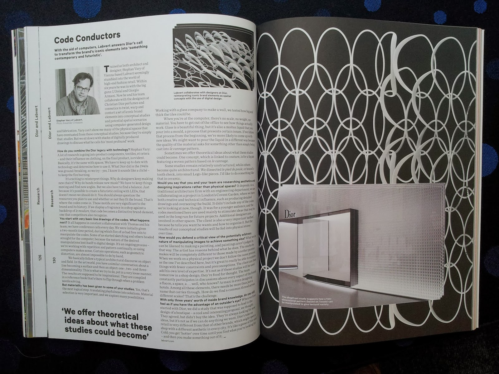 d design work related magazine article lucie richmond group because i could not get a good copy of the article i wanted i decided to go back to the college library and look at the 2d design related articles again