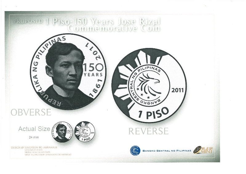 Jose Rizal coin