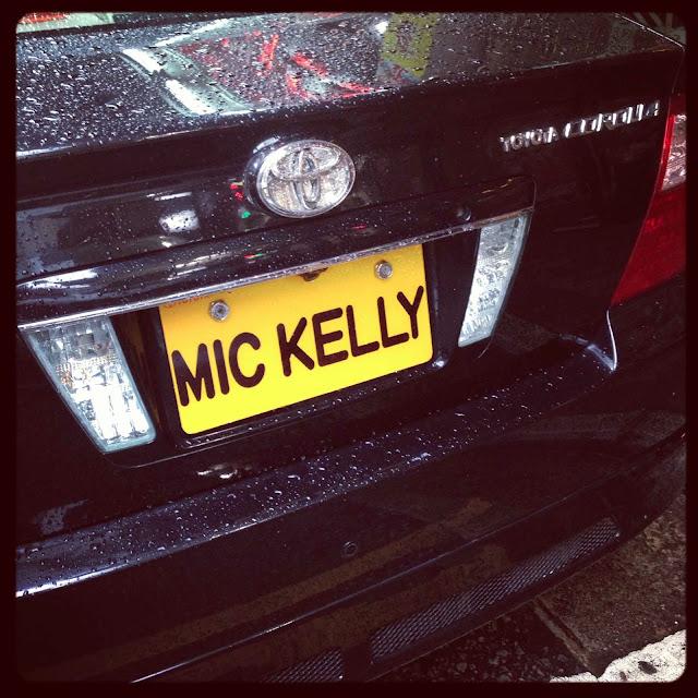 Matrícula personalizada MIC KELLY Hong Kong