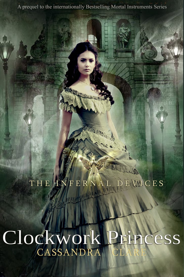 befriend her they fight demons and all sorts of weird and wonderful    Will And Tessa Clockwork Princess