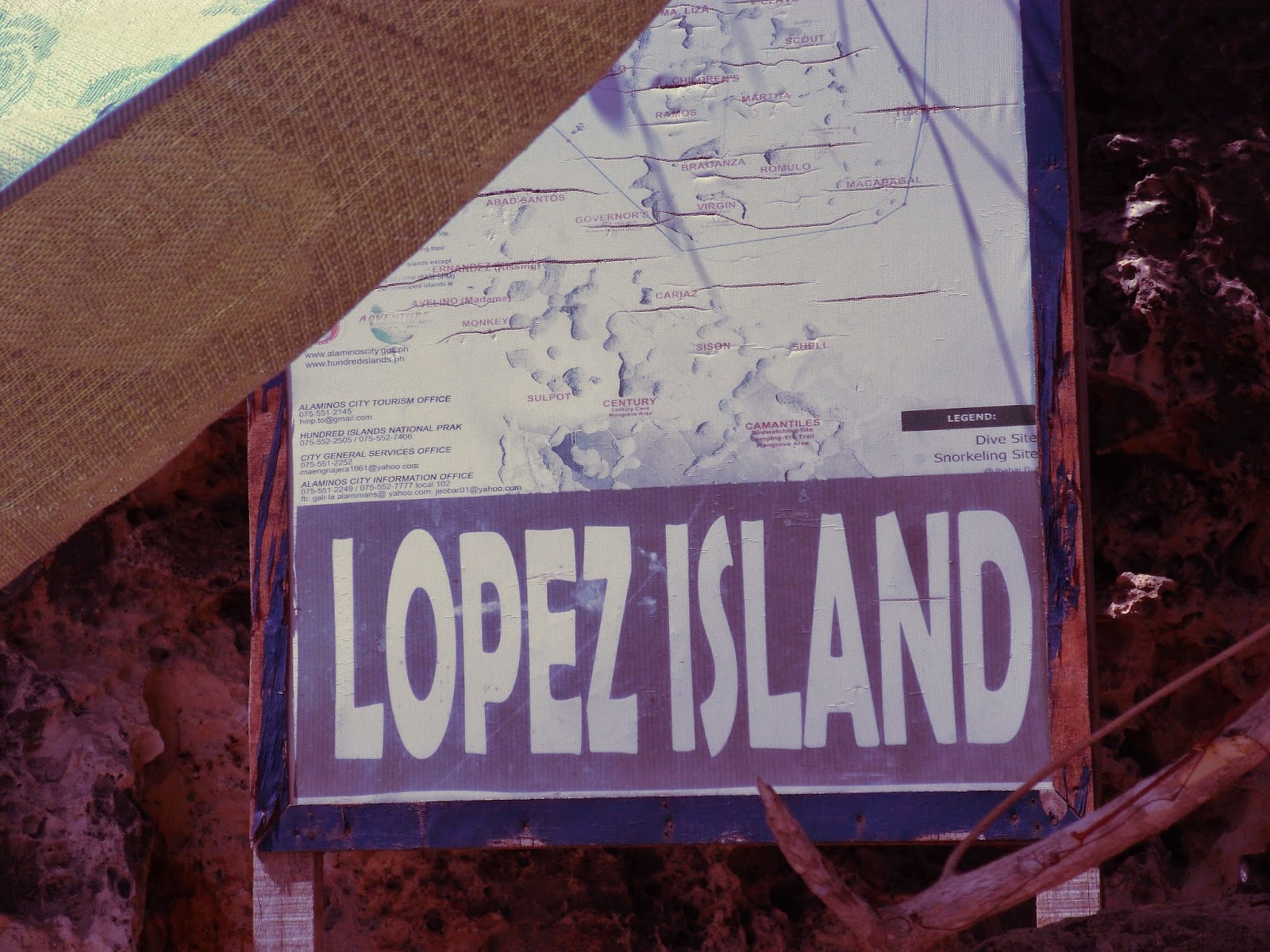 Lopez Island at Hundred Islands