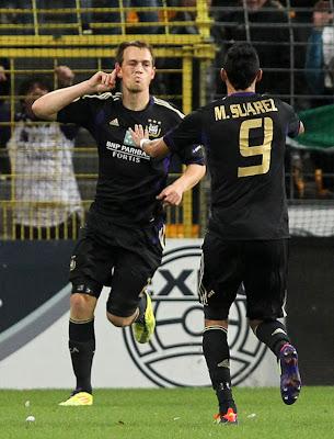 Anderlecht 3 - 0 Sturm Graz (2)