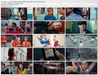 T.K.Kid Screens The Karate Kid [2010]