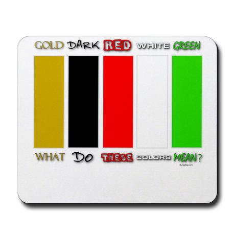 Here Is A Mousepad With The Wordless Colors On In