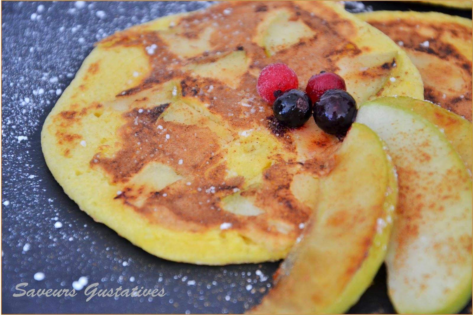 pancake à la new yorkaise