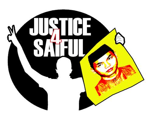 JUSTICE 4 SAIFUL!