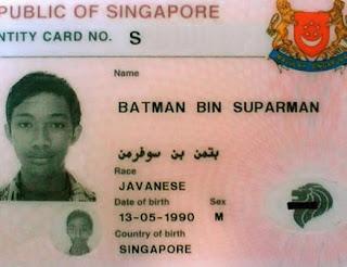 nama unik batman bin suparman
