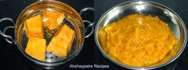 pumpkin paste to make appe